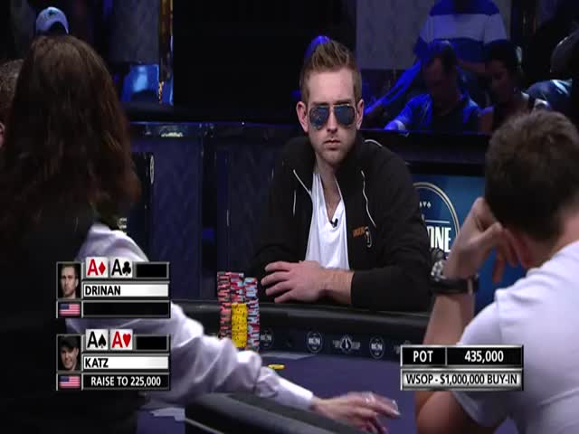 Poker Player Loses $1 Million after Incredibly Bad Luck  (VIDEO)