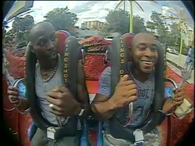 When DMX Tries the Slingshot Ride...  (VIDEO)