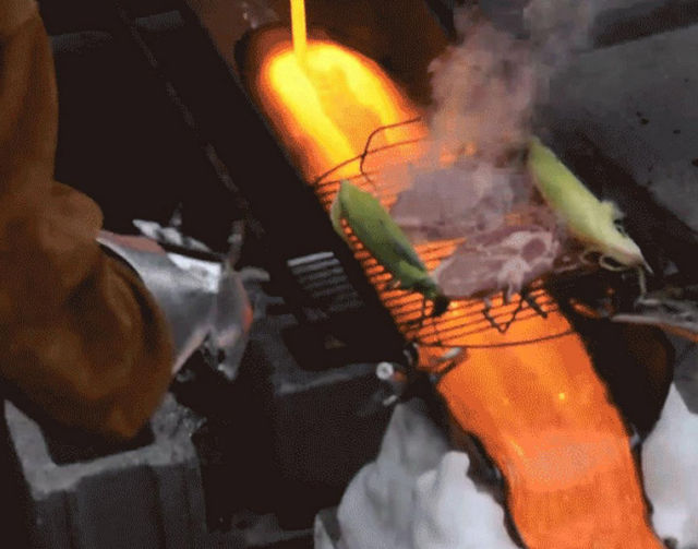 A Lava Barbeque That's Out of This World