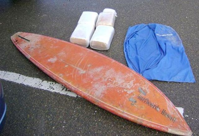 Drug Busts Reveal Smugglers Hiding Places