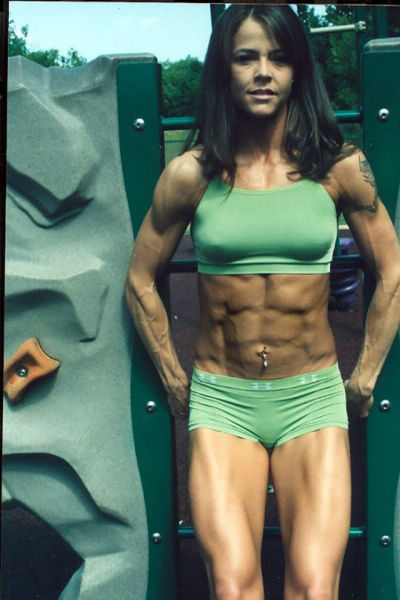 Killer Abs That Might Be a Bit over the Top