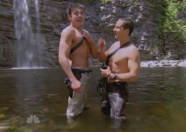 The Ultimate Bromance: Zac Efron and Bear Grylls Go