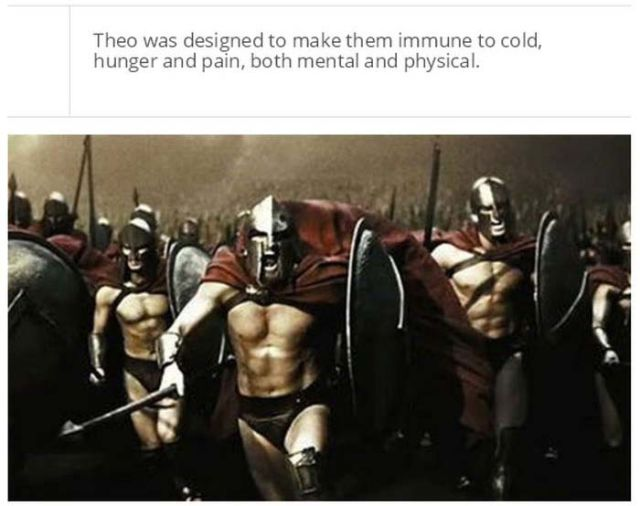 You'll Never be as Tough as the Spartans