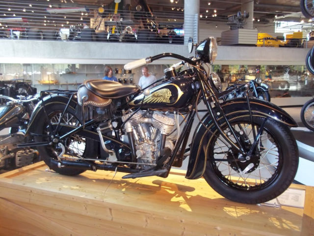 A Massive Collection of Vintage and Modern Motorcylces