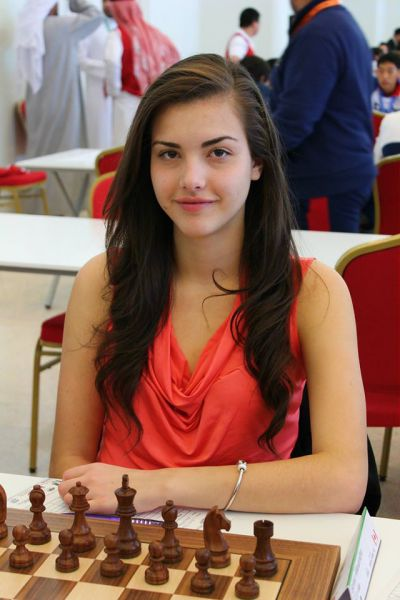 This Girl Might be the Sexiest Chess Player in the World