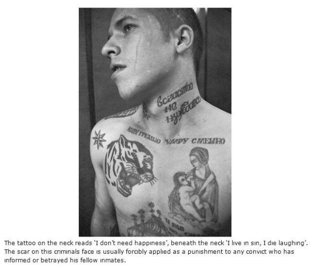 What Russian Prison Tattoos Really Mean