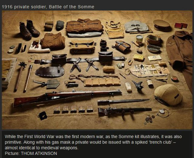 A Look at War Weaponry over the Ages