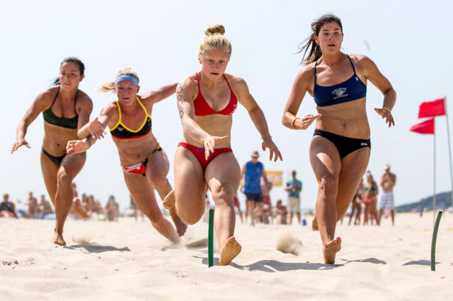 An All Woman Lifeguard Tournament Is a Must-Attend Event