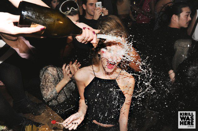 Champagne Facials That Are 100 Percent Hot