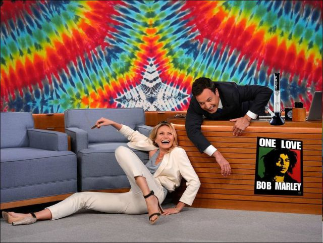 Internet Users Have a Little Fun with Cameron Diaz and Jimmy Fallon
