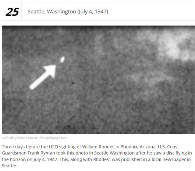 UFO Photographs That Are Pretty Debatable