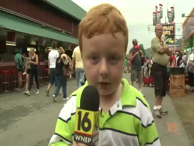 'Apparently Kid''s First Time on Live TV  (VIDEO)