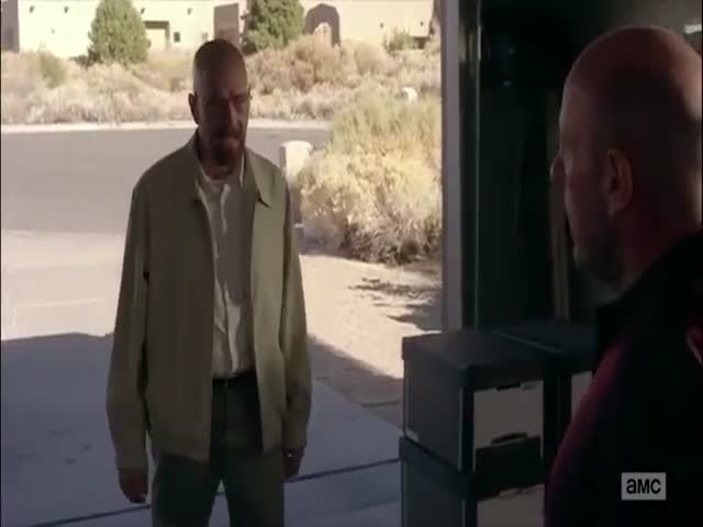 Funny Alternate Version of Breaking Bad's Season 5 Garage Scene