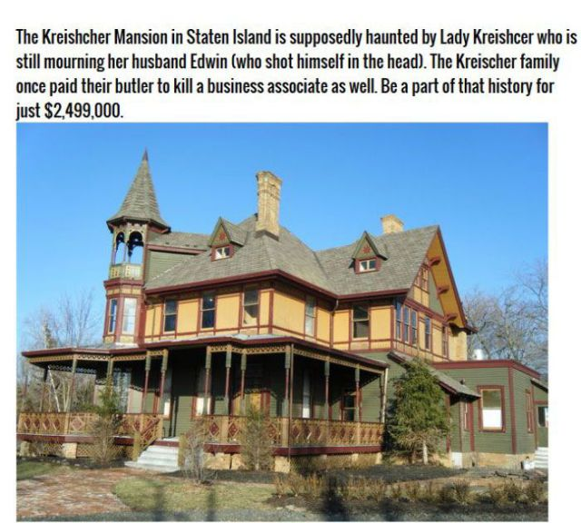 Haunted Houses That Are Actually for Sale