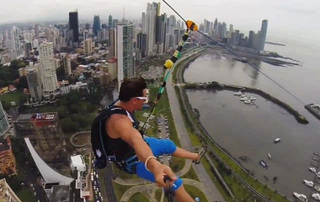The Largest and Most Insane Urban Zip-Line in the World