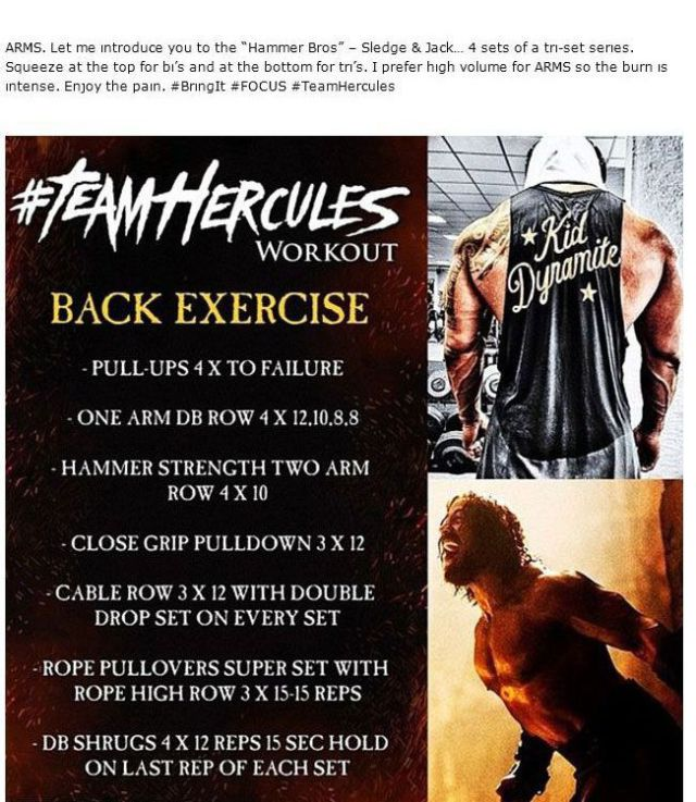 The Rock's Body Can be Yours If You Follow These Steps