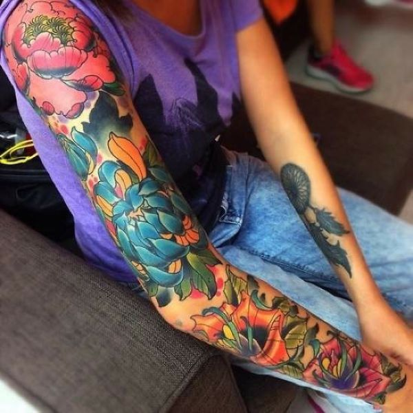 Tattoos Make the World a Bit More Colorful