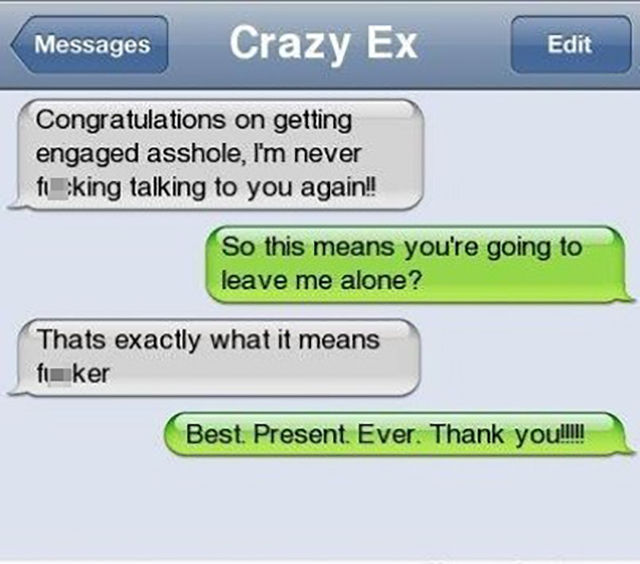 Hilarious Texts to Exes
