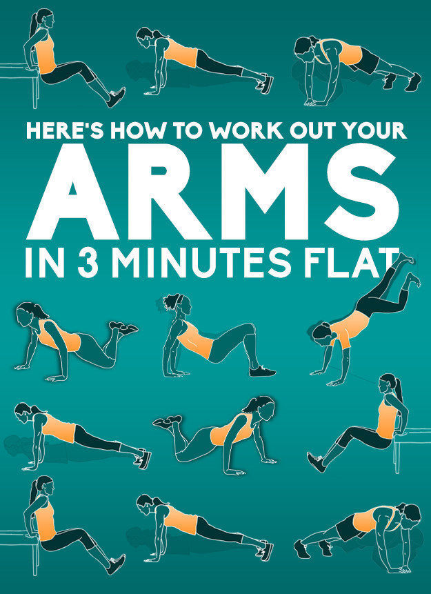 An Easy Three Minute Workout for Your Arms