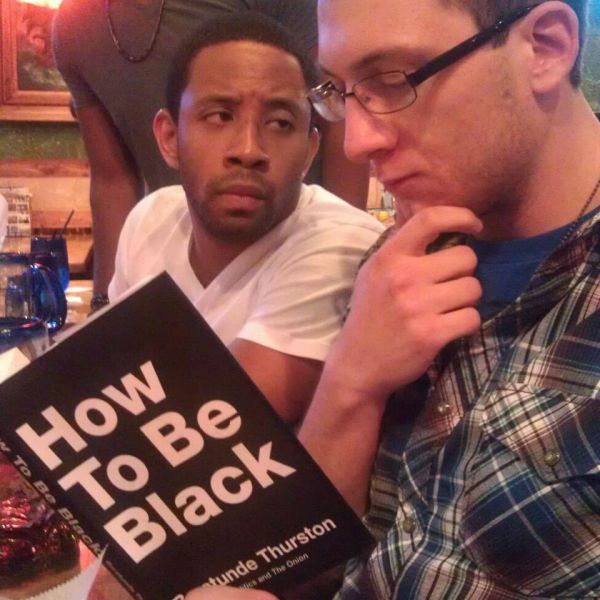 Hilarious Pics of Black People Who Are Not Feeling White People