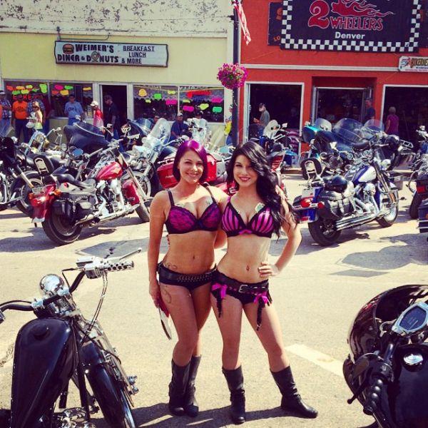 Sturgis Motorcycle Rally's Hardcore Biker Beauties