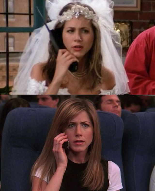 """The """"Friends"""" Cast in Their First and Last Episodes"""
