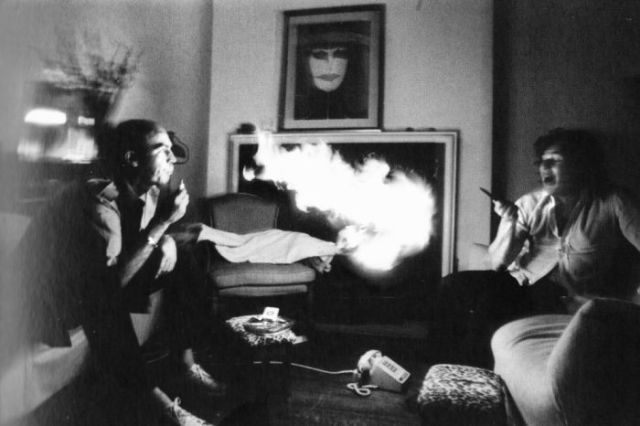 A Day in the Life of Drug Addict Hunter S. Thompson