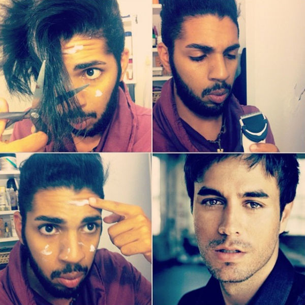 A Weird Trend of Guys Posting Makeup Transformation Pics on Instagram (31 pics) - Picture #3