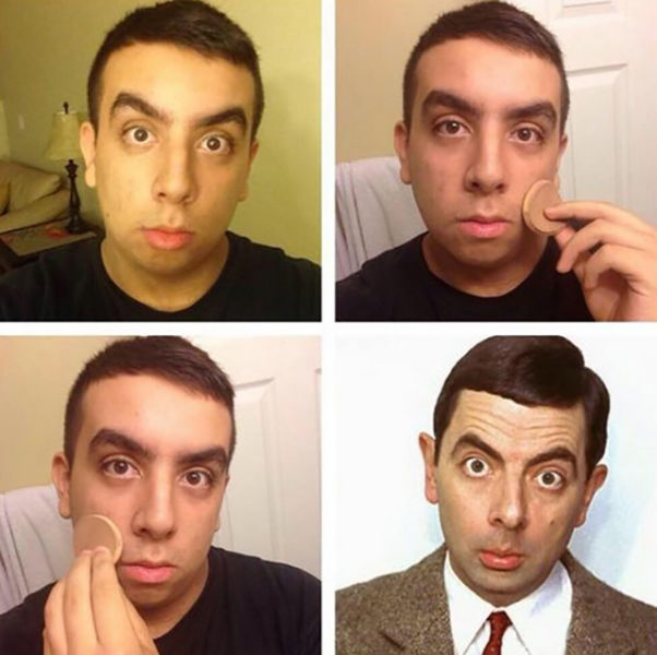 A Weird Trend of Guys Posting Makeup Transformation Pics on Instagram (31 pics) - Picture #10