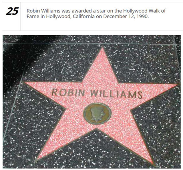 Fun Facts about the Legendary Robin Williams