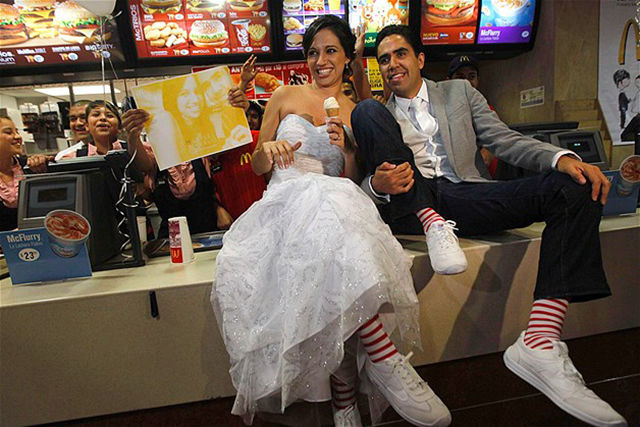 One-of-a-kind Weddings with a Fun and Crazy Twist