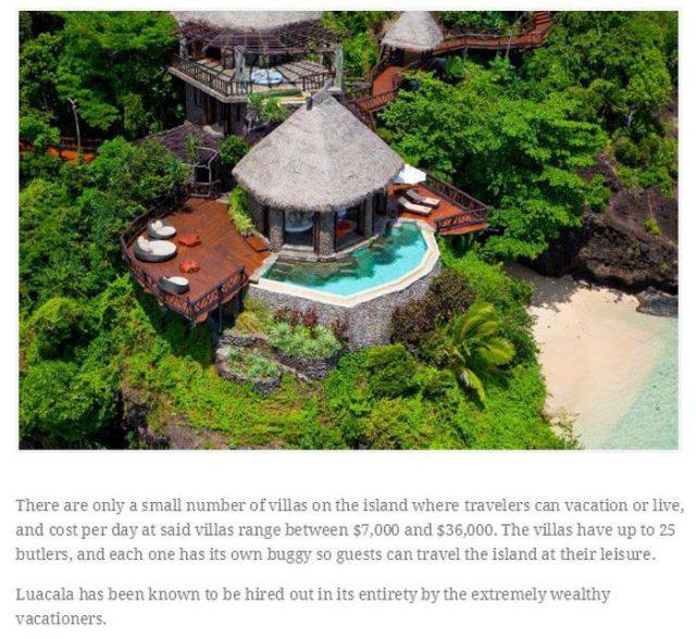 Places Where Billionaires Go to Hang Out
