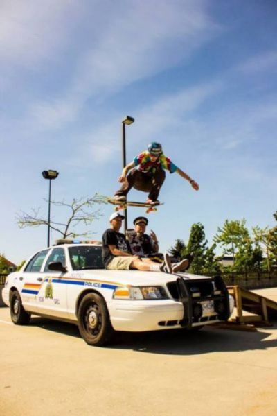 Proof That Cops Aren't Always Scary and Serious