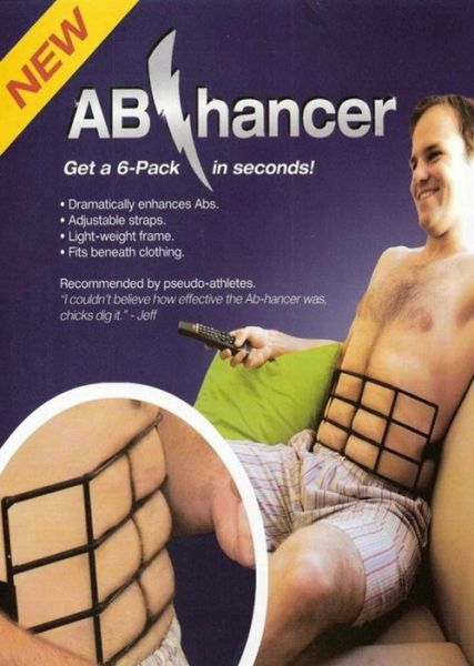 Real Fitness Products Designed for Gullible People
