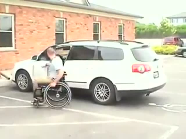A Pretty Cool Invention for People in Wheelchairs