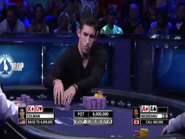 Poker Player's Strange Reaction after Winning $15 Million  (VIDEO)