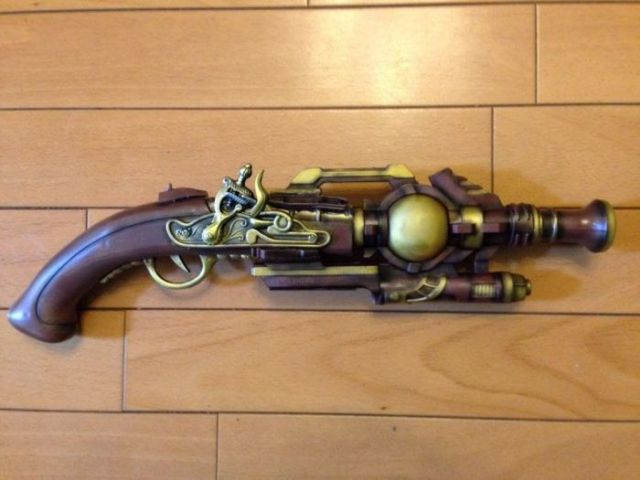 A Simple Way to Make a Steampunk Gun