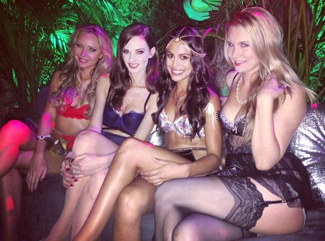 "Playful Party Pics from Playboy's ""Midsummer Night's Dream"" Themed Event"