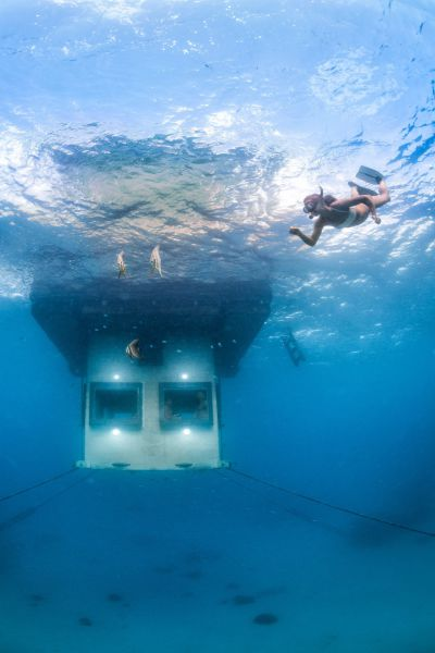 A Dreamy and Unique Underwater Hotel Room