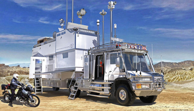 A Luxury and Totally Out of This World RV