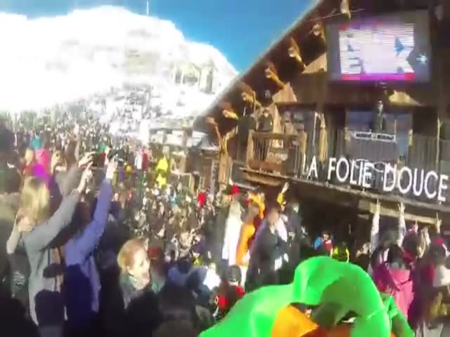 Carrot Crashes a Party and Puts a Quick End to All the Fun  (VIDEO)