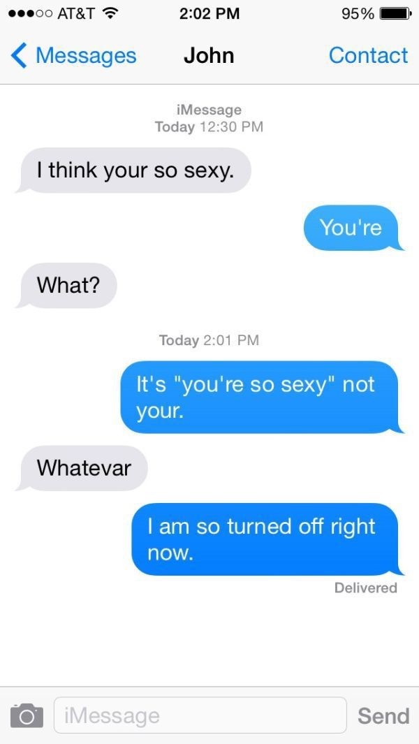 A Sexting Fails That's So Funny