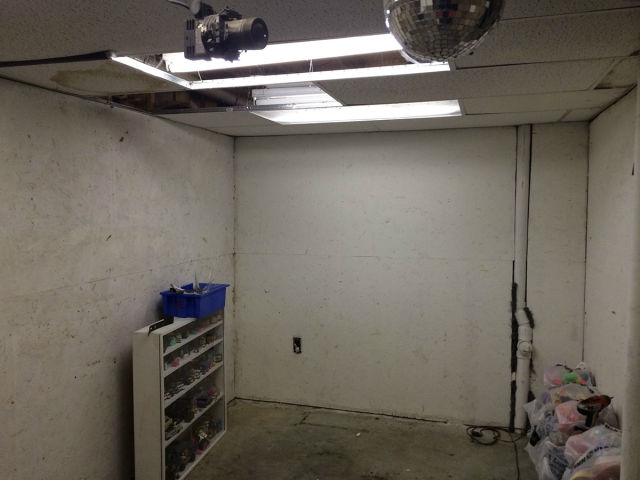 Boring Basement Transformed into Epic Man Cave on a Budget