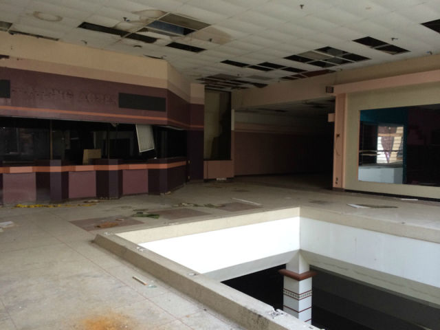A Disused and Neglected Rolling Acres Mall
