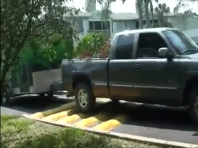 A Speed Bump That Is Nearly Impossible to Cross