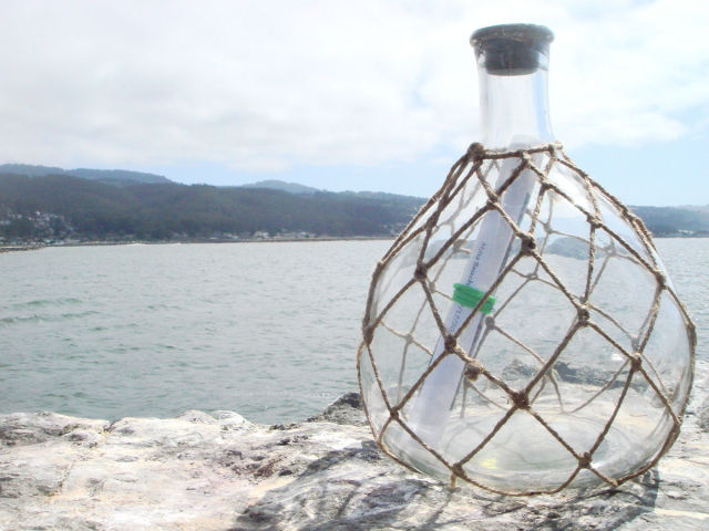 A Touching Real-life Message in a Bottle