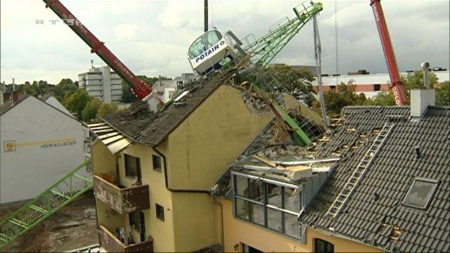 Crane Crash