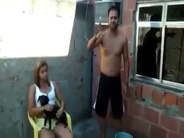 An Ice Bucket Challenge with a Surprise Ending  (VIDEO)