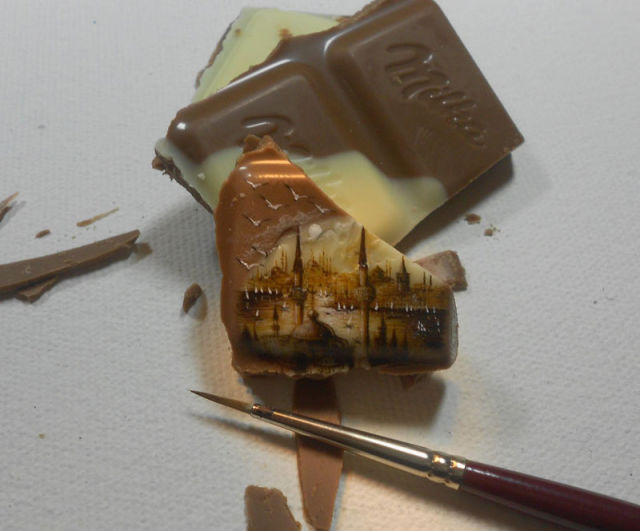 The Smallest Paintings Ever Created