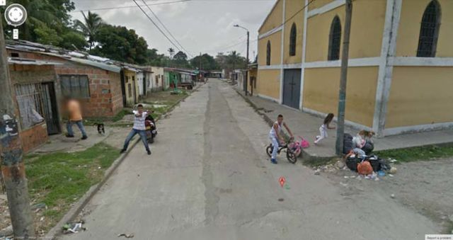 The Most Bizarre Google Street View Maps Ever
